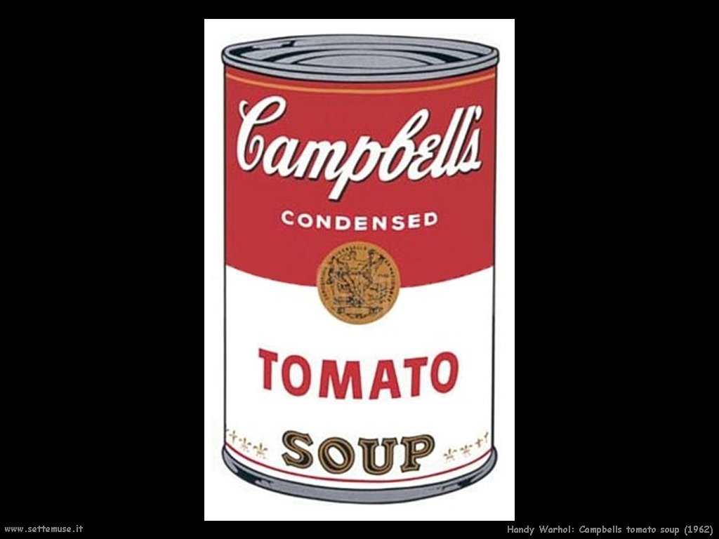andy warhol campbell tomato soup the image kid has it. Black Bedroom Furniture Sets. Home Design Ideas